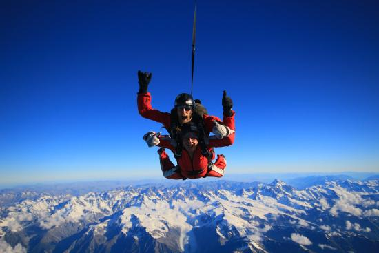 Skydive Franz: the best feeling in the world