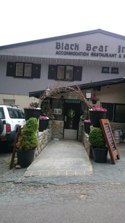 Black Bear Inn: Black Bear decorated for Christmas 🎄 :-)
