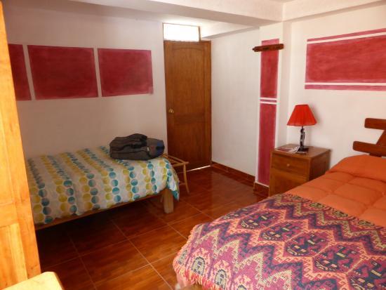 Inka Paradise Hotel: 一人用でも広い部屋だった