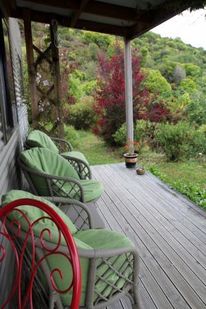 Fraser Highlands Retreat: Outdoor seating