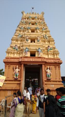 Lakshmi Narasimha Swami Temple Main Gopuram Picture Of Sri Laxmi