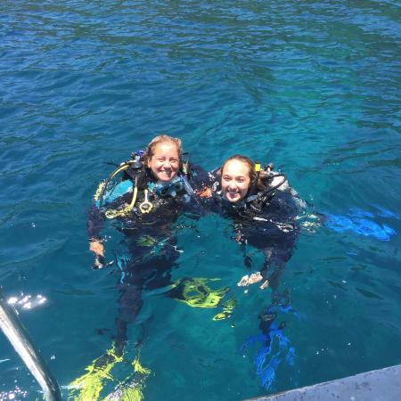 Barefoot Divers: After my 2nd Open Water Dive