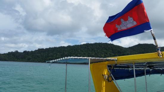 Koh Rong Dive Center: Koh Rong Dive Boat