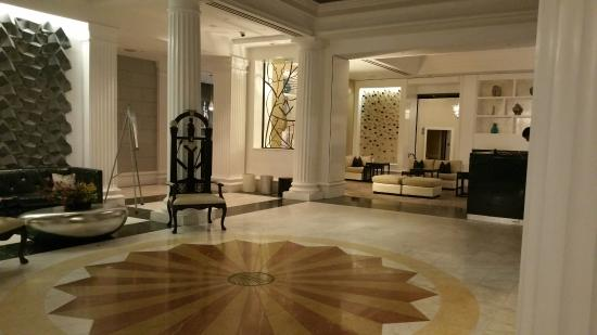 Renaissance Providence Downtown Hotel Lobby Area At