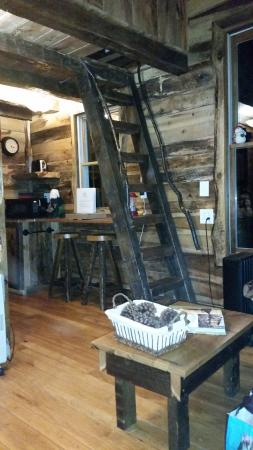 Glenmont, OH: Ladder to Loft Bedroom