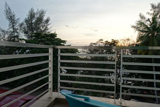 Cenang Plaza Beach Hotel Balcony