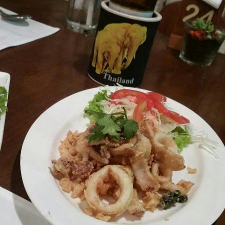 Tip Anda Bungalows: Salt & pepper squid at Tip Adna_large.jpg