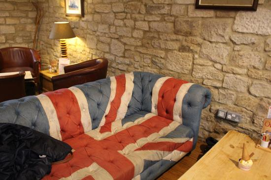 Stocksfield, UK: Cosy seating area