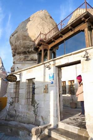 Divan Cave House: ホテルの入口