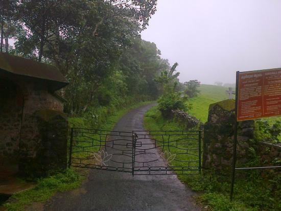 Entrance Of Kurisumala Ashram