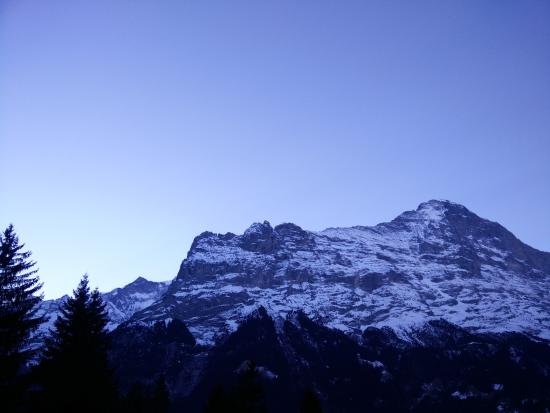 Grindelwald Youth Hostel : view from room