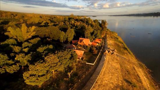 Rojana's Retreat on Mekong: from above