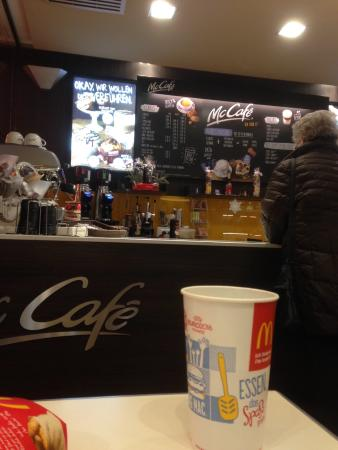 McDonald's: McCafé in McDonalds
