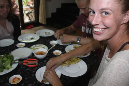 Jolie Villa Hoi An Homestay : How fun the cooking time together