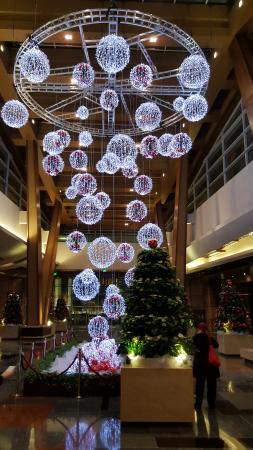 Christmas Decorations Picture Of Aria Resort Casino Las Vegas
