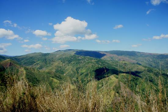 Tarlac, Philippines: View from the summit.