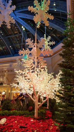 Bellagio Las Vegas: Christmas decorations