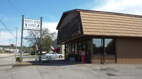 The Rusty Spur Diner: Outside view