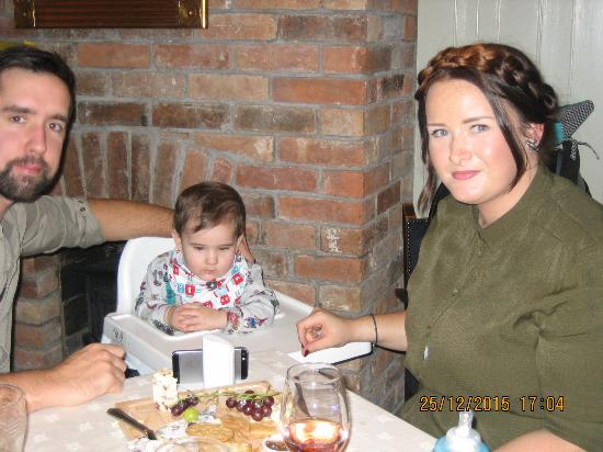 Ticknall, UK: Happy families