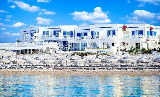 Mavi Beyaz Hotel: Otel Genel Görünümü