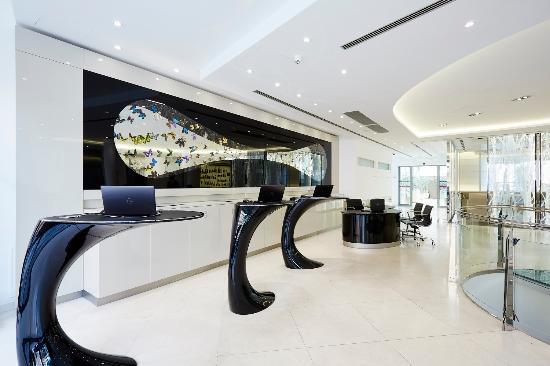 Lobby picture of design hotel josef prague prague for Design hotel josef prague booking com