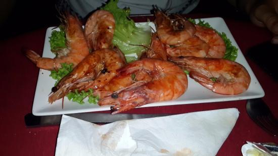 Arafo, España: креветки