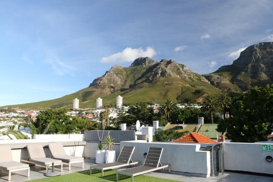 The Three Boutique Hotel: view from the roof