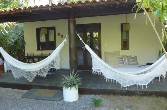 Morere, BA: Nosso quarto - varanda magica