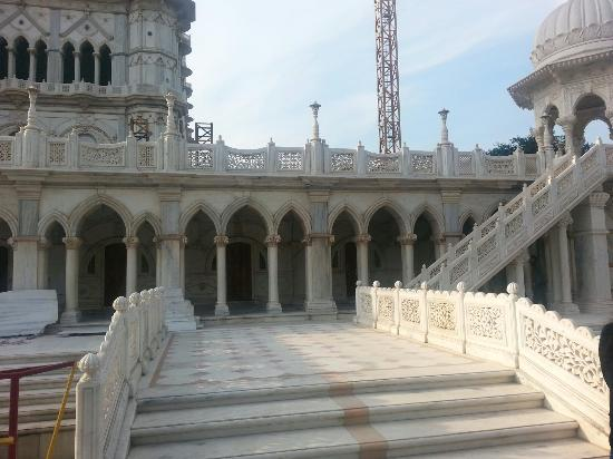 Image result for radha swami temple agra