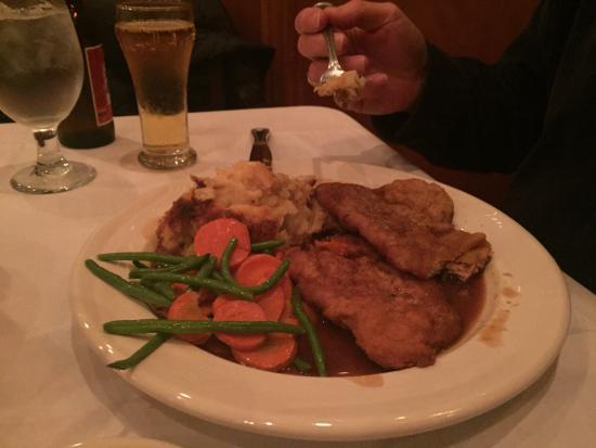 Napanoch, NY: Pork Weiner Schnitzel