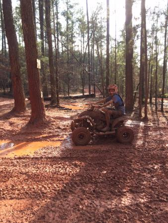 Union Point, GA: Fun in the mud!