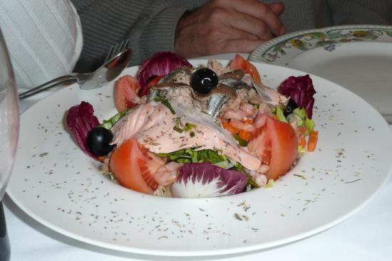 Can Formiga: salade