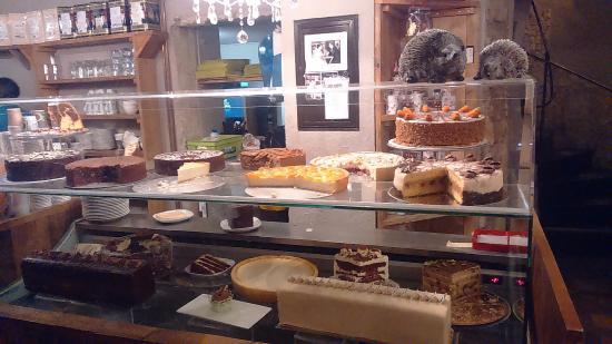 Chocolate House  Les différents gâteaux