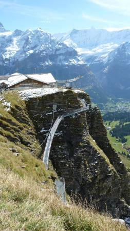 Grindelwald, Suiza: スカイウォーク