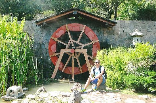 Molino de agua fotograf a de jardin japones santiago for Jardin japones de santiago