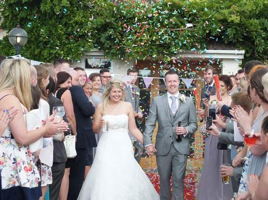 Holt, UK: wedding 8