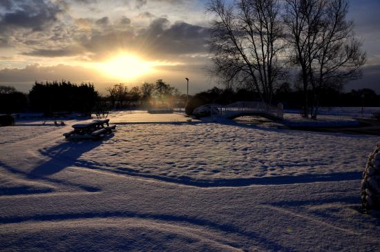 Holt, UK: A winters tale