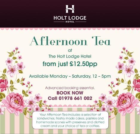 Holt, UK: Afternoon Tea