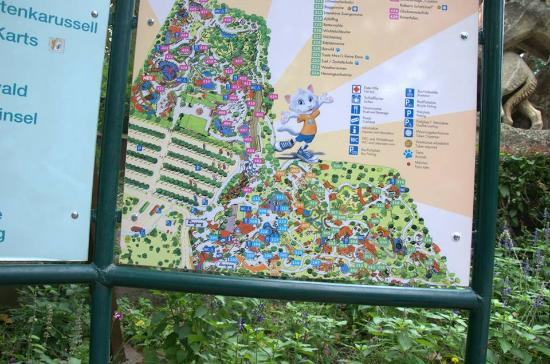family park ausztria térkép Térkép   Photo de Familypark, St. Margarethen   TripAdvisor family park ausztria térkép