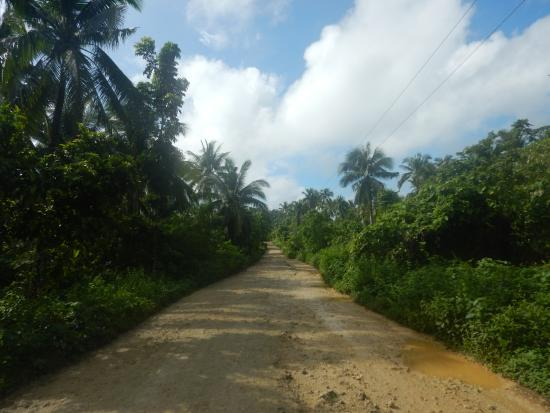 Borongan, Φιλιππίνες: The road to Del Pilar
