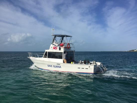Dive Guana : Heading out for the diving