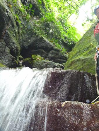 Extreme Dominica Canyoning & Adventure Tours: waterfall