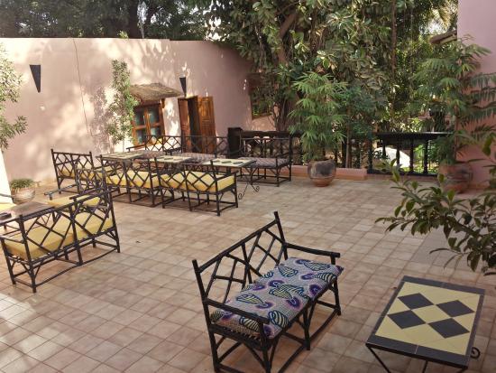 Hotel Tamana: Terrace