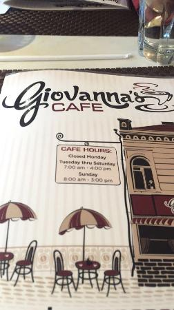 ‪Giovanna's Cafe‬