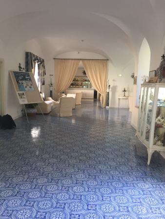 Hotel Villa Sanfelice: エントランスホール