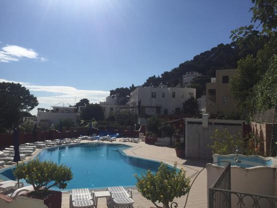 Hotel Villa Sanfelice: 部屋からの眺め