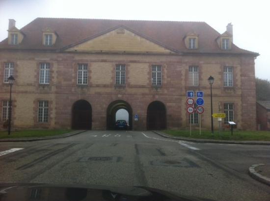 Neuf-Brisach, Frankrike: De toegangspoort