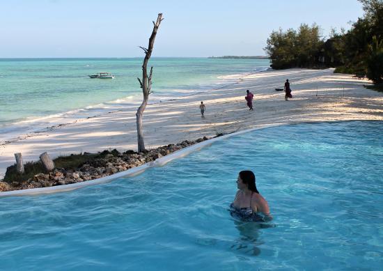 Pongwe Beach Hotel Pool