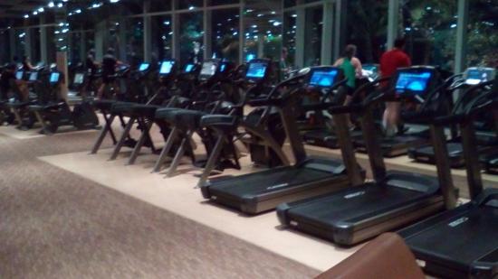 aria resort and casino gym