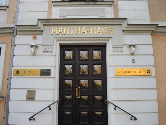 Hotel Entrance Picture Of Hotel Marthahaus Halle Saale